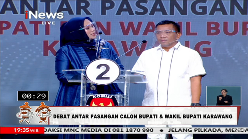 KPU Karawang Resmi Umumkan Cellica-Aep sebagai Pemenang Pilkada 2020