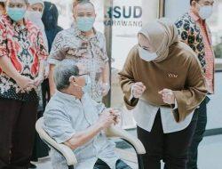 Bupati Cellica Perintahkan Vaksinasi Lansia Jadi Prioritas