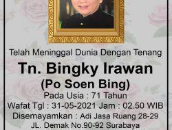 Berita Duka, Tokoh Konghucu Indonesia (Bingky Irawan) Tutup Usia
