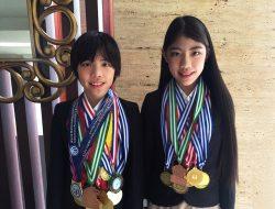 Adik Kakak Mischka dan Devon Sabet 33 Medali Olimpiade Matermatika Di Massa Pandemi