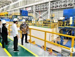Pabrik baru Karakatau Steel siap pasok baja untuk mobil listrik